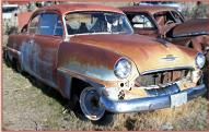 1953 Plymouth Cranbrook 2 Door Club Coupe Sedan For Sale right front view