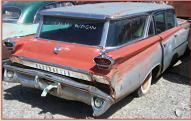 1959 Oldsmobile Super 88 Model M-88 Six Passenger Station Wagon For Sale right rear view
