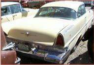1957 Lincoln Capri 2 Door Hardtop Gold For Sale right rear view