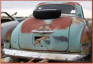 1952 Plymouth Concord 3 Window 3 Passenger Business Coupe For Sale $3,500 right rear view