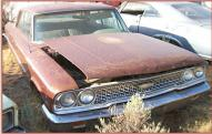 1963 Ford Galaxie 500 2 Door Hardtop 390 V-8 4 Speed Muscle Car For Sale $5,500 right front view