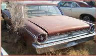 1963 Ford Galaxie 500 2 Door Hardtop 390 V-8 4 Speed Muscle Car For Sale $5,500 left rear view