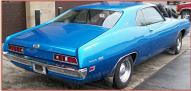 1971 Ford Torino 500 fastback 2 Door Hardtop Muscle Car For Sale $5,000 right rear view