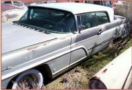 1959 Lincoln Premiere 2 Door Hardtop For Sale $4,500 left front view