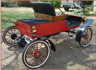 "1903 Oldsmobile Curved Dash ""Surrey"" Replica by Bliss For Sale $9,000 right rear view"