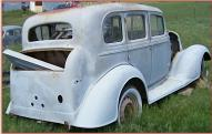 1934 Oldsmobile Series F Six 4 Door Coach Sedan For Sale right rear view