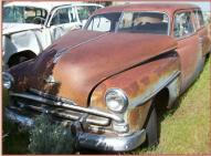 1952 Plymouth Concord Savoy Suburban 2 Door Station Wagon For Sale left front view