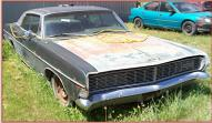 1969 Ford LTD 4 Door S-Code Hardtop 390 V-8 For Sale right front view