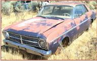 1967 Ford Falcon Futura 2 Door Sport Coupe 289 V-8 For Sale left front view