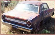 1967 Ford Falcon Futura 2 Door Sport Coupe 289 V-8 For Sale right rear view