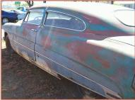 1950 Hudson Pacemaker 500 Deluxe 2 Door Coupe left rear view