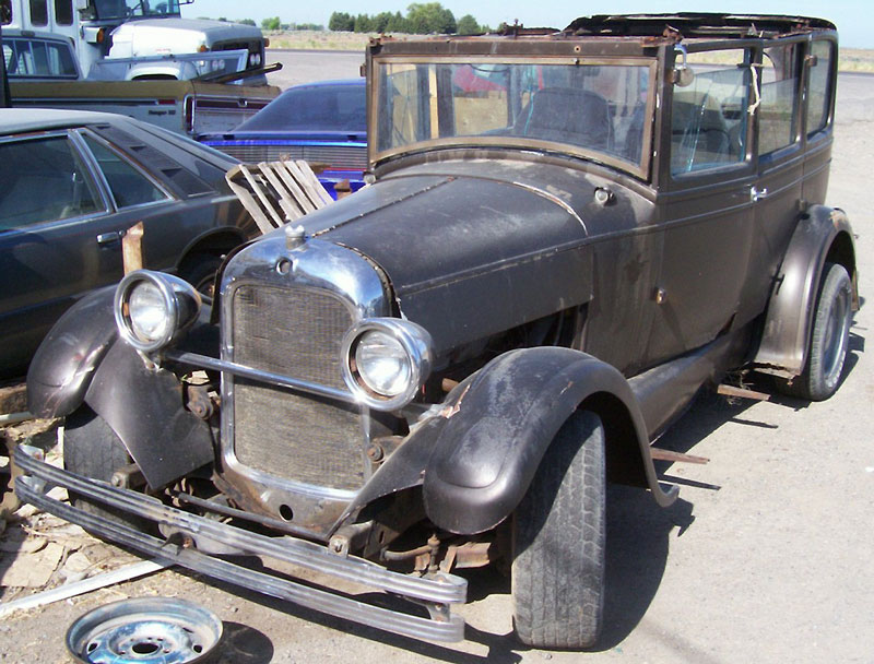 1927 Studebaker Standard Four Door Sedan Old School Rat Rod For Sale