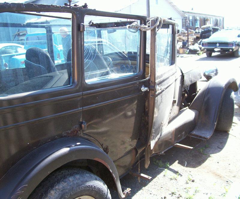 1927 Studebaker Standard Four Door Sedan Old School Rat Rod For Sale
