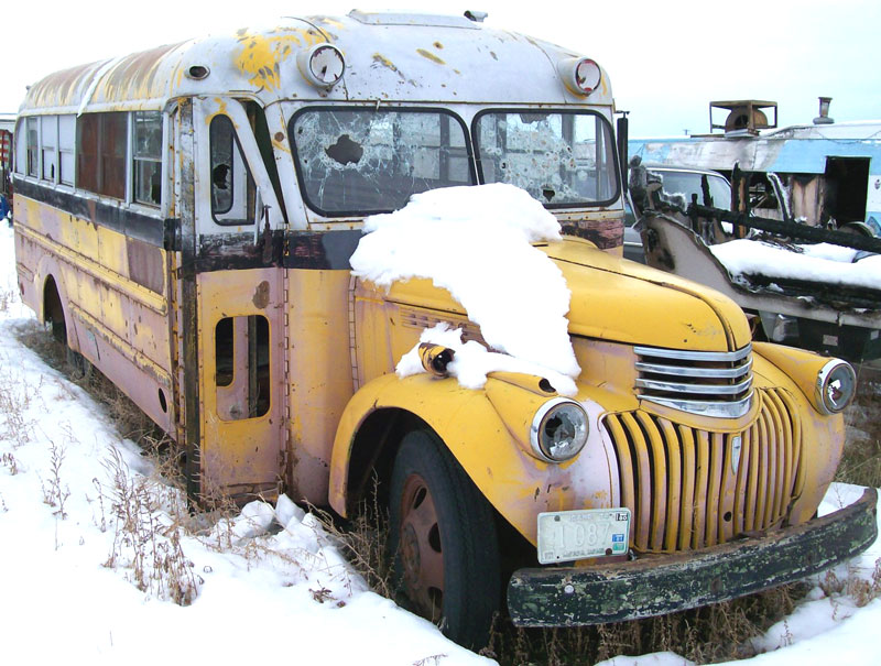 1941 Chevrolet Superior 28 Passenger School Bus Camper Conversion