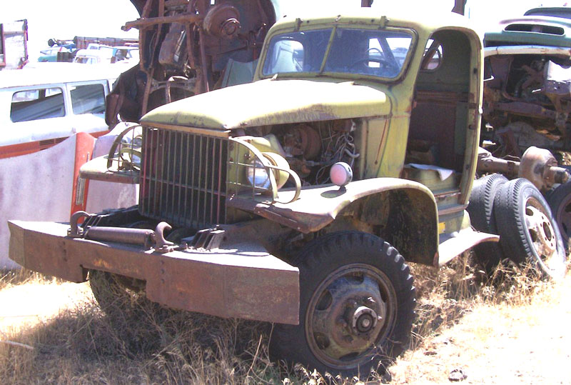 1942 Chevrolet Model G506 4X4 2 ton WWII-Era Truck For Sale