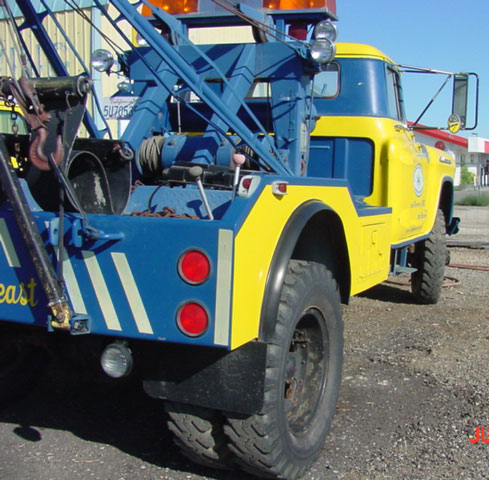 1956 Chevrolet Holmes 4x4 Off Road Wrecker Tow Truck For ...