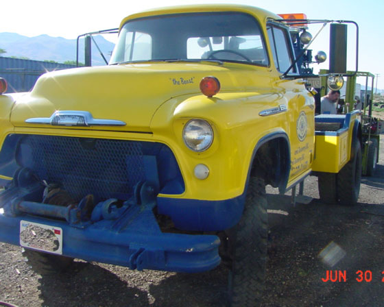 1956 Chevrolet Holmes 4X4 Off-Road Wrecker Tow Truck For Sale