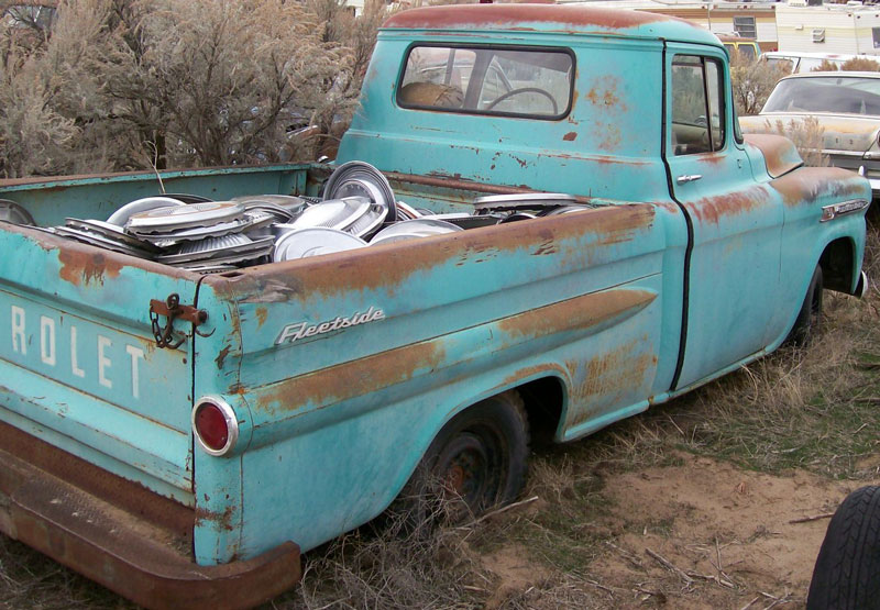 1959 chevrolet model 3b apache 3100 1 2 ton fleetside pickup truck for sale. Black Bedroom Furniture Sets. Home Design Ideas
