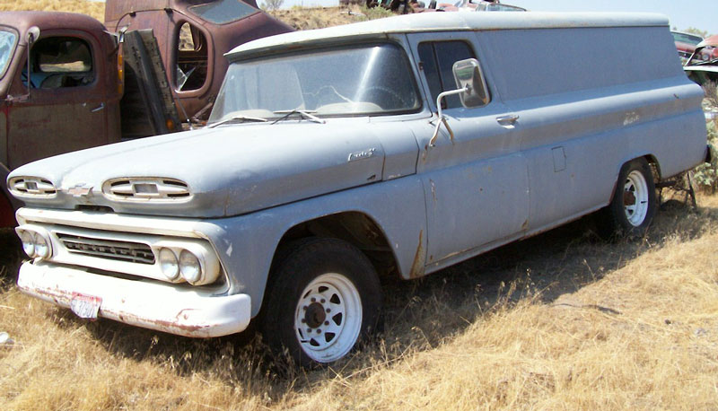 1961 Chevrolet C-30 Apache One Ton LWB Panel Truck For Sale
