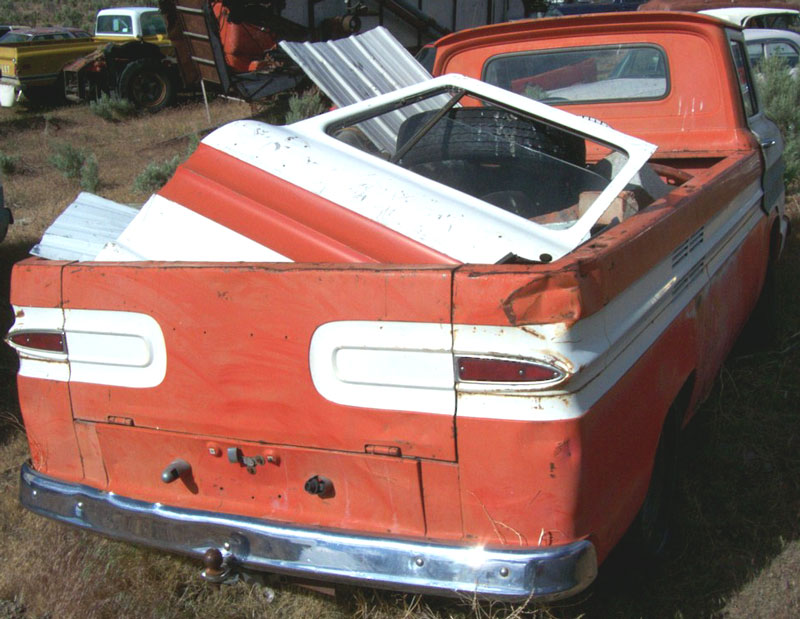 1962 Chevrolet Corvair 95 1/2 ton Loadside Model R12/Series 10 ...