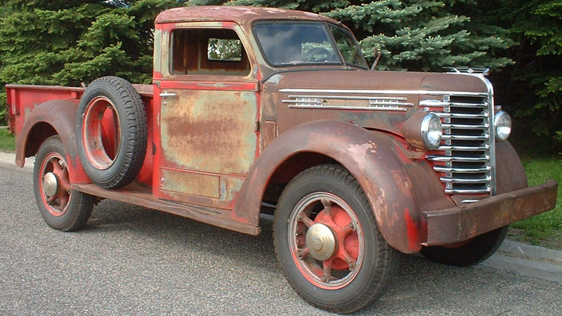 1949 Diamond T Model 201 One Ton Pickup Truck For Sale