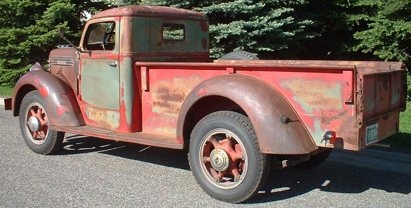1949 Diamond T Model 201 One Ton Pickup Truck For Sale