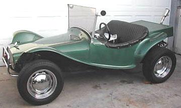 1958 Berry Mini T Vw Based Custom Dune Buggy For Left View