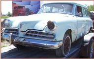 1954 Studebaker Commander Deluxe Conestoga 2 door 6 passenger station wagon left front view