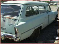 1954 Studebaker Commander Deluxe Conestoga 2 door 6 passenger station wagon right rear view