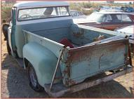 1955 Dodge Model C-3-B6 1/2 Ton High Side Pickup Truck with DeSoto Firedome V-8 For Sale left rear view