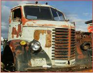 1948 Diamond T COE Cab-Over-Engine Cab and Interior For Sale right front view
