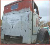 1948 Diamond T COE Cab-Over-Engine Cab and Interior For Sale right rear view