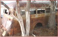 1935 Chevrolet 2 Ton 24 Passenger City School Bus For Sale right rear section view