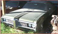 1968 Pontiac Grand Prix 428 V-8 2 Door Hardtop For Sale left front view
