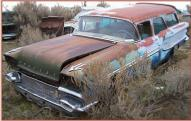 1958 Pontiac Chieftain Safari 4 Door 9 Passenger Station Wagon For Sale left front view