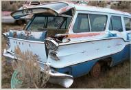 1958 Pontiac Chieftain Safari 4 Door 9 Passenger Station Wagon For Sale right rear view