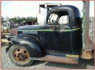 1946 Chevrolet 2 Ton Stake Bed Truck For Sale left cab side view