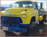 1956 Chevrolet Holmes 4X4 Off-Road Wrecker Tow Truck left front view