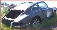 1966 Porsche 912 Two Door Coupe German Sports Car For Sale right rear view
