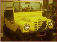 1962 Crofton Brawny Bug Midget-Sized Jeep-Type 4 Passenger 4X2 Utility Vehicle For Sale right front view