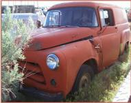 1956 Dodge Series C-3-B 1/2 Ton Town Panel Truck For Sale $5,5000 left front view