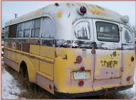 1941 Chevrolet Superior 28 Passenger School Bus Camper Conversion For Sale $3,500 left rear view