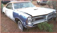 1967 Pontiac Tempest LeMans 2 Door Hardtop For Sale $5,500 right front view