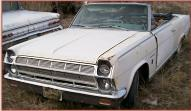 1965 Rambler Ambassador 990 Convertible For Sale left front view