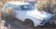 1963 Plymouth Belvedere 6 Passenger Station Wagon For Sale $4.500 right front view
