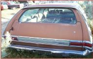 1969 Plymouth Sport Suburban 4 Door 6 Passenger Station Wagon For Sale $4,500 right rear view