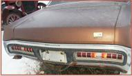 1971 Plymouth Sport Fury 2 Door Hardtop For Sale $3,000 rear view