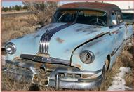 1952 Pontiac Chieftain 4 Door Sedan For Sale $4,000 left front view