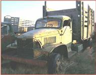 1942 Chevrolet G506 WWII Military 4X4 1 1/2 Ton Truck For Sale $3,500 left front view