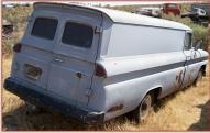 1961 Chevrolet C-30 Apache One Ton LWB Panel Truck For Sale $4,000 right rear view